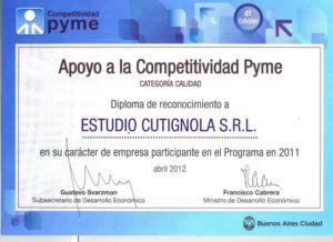 Certificado Premio GCBA Estudio Cutignola-bc