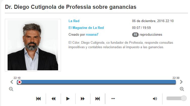 El Magazine de Radio La Red nos consultó sobre los recientes cambios en monotributo